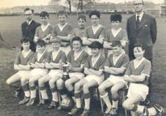 Heathcote School cup winners 1962